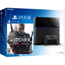 Sony PlayStation 4 500GB +Ведьмак: Дикая Охота The Witcher 3: Wild Hunt